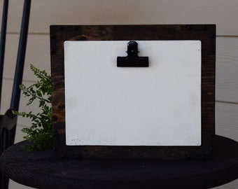 5x7 PHOTO DISPLAY - Industrial Farmhouse Style Picture Frame