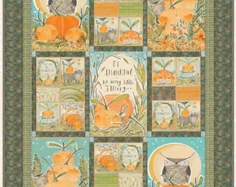 "Quilt Kit - Blend Fabrics - Fall Goodness by Cori Dantini - 52"" x 82"" (132 cm x 208 cm)"