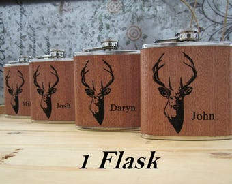 Hunting Flask - Gift for the Outdoorsman