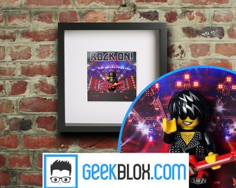 Rock & Roll Framed Lego