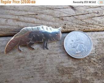 ON SALE Raccoon pin handmade in sterling silver 925