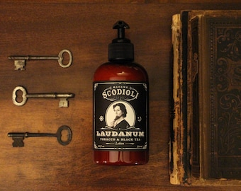 Laudanum Hand & Body Lotion - Tobacco and Black Tea