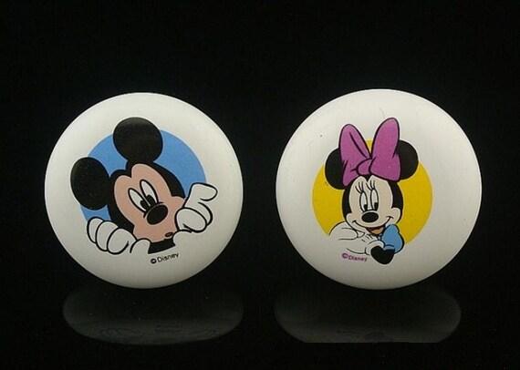 Perillas de Mickey bebé guardería niños a Dresser pomos cerámica ...