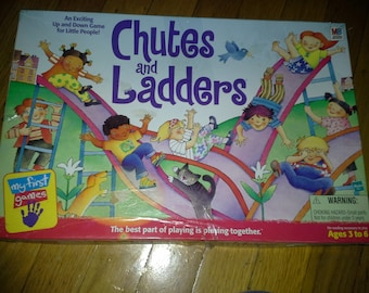 Chutes and Ladders board game 1999