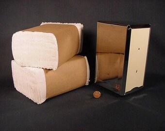 Napkin Holder Dispenser * Vintage Old Collectible * Restaurant Table Style Towel Holder & Napkins