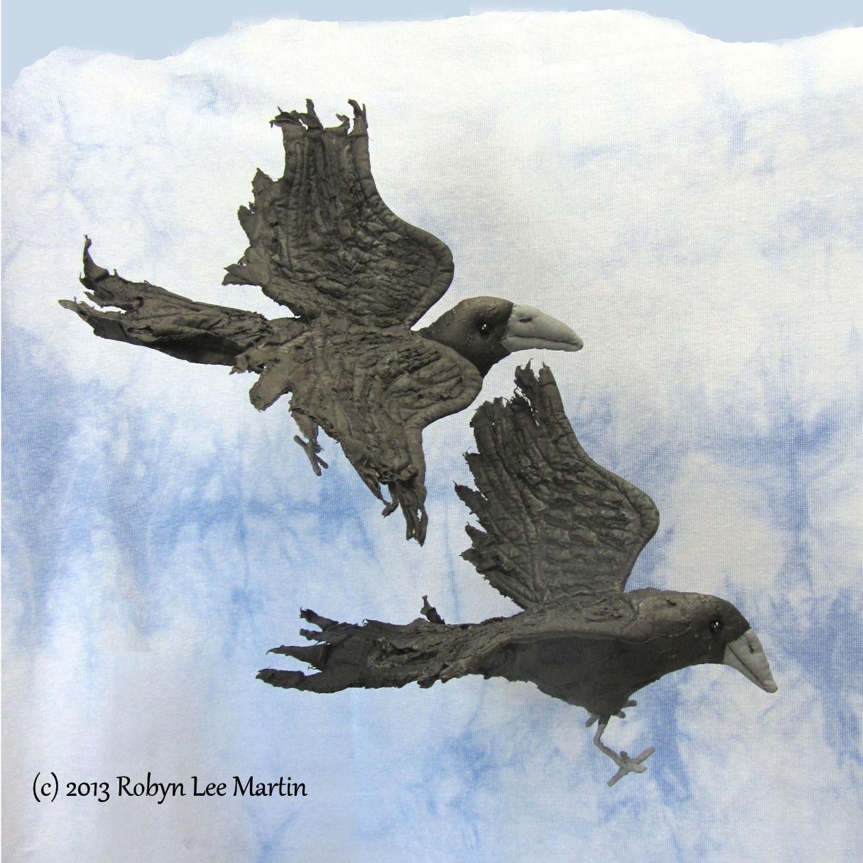 Pdf sewing pattern raven crow bird crow doll soft zoom jeuxipadfo Gallery