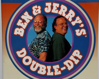 Ben & Jerry's Double-Dip: How to Run a Values-Led Business and Make Money, Too by Ben Cohen and Jerry Greenfield 1997 - Free Shipping