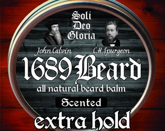1689 Beard Balm (2oz can)- Extra Hold