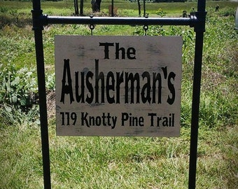 Personalized Yard Signs , Mothers Day Gift, Garden Signs, Lawn Sign, Housewarming Gifts, #5