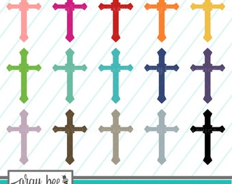 cross clip art etsy rh etsy com clip art crosses with flowers clip art crosses free