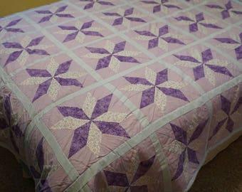 Lavender Star Quilt