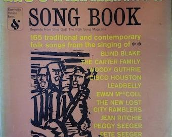 Vintage 1960s hootenanny songbook 165 folk songs