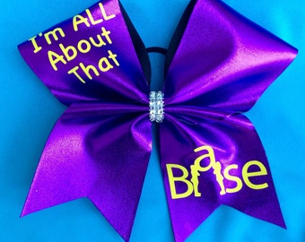 All about that Base Cheer bow