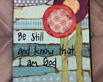 Canvas scripture art