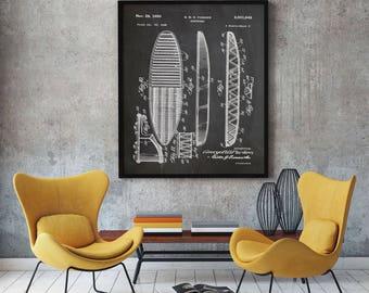 surf decor etsy. Black Bedroom Furniture Sets. Home Design Ideas