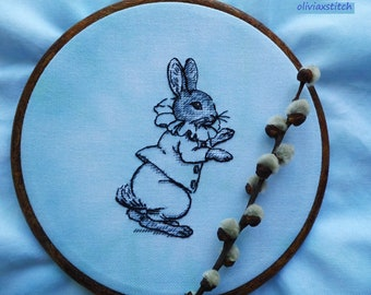 Bunny. Little Hare. Cross Stitch Pattern