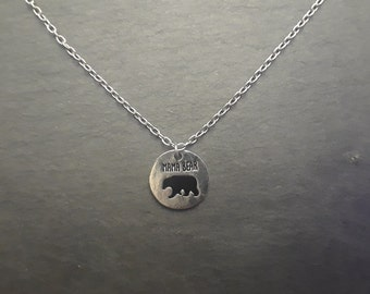 Necklace - Mama Bear Necklace - Gift