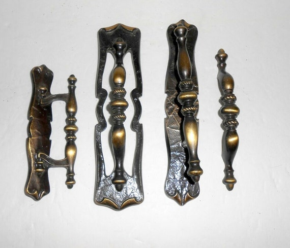 Vintage Cabinet Pulls Cabinet Handles Drawer Pulls Drawer Handles Amerock  Carriage House Cabinet Handles Antique Brass Architectural Salvage From ...
