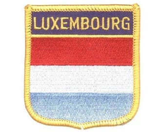 Luxembourg Patch (Iron on)