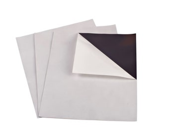 """4"""" x 6"""" 60 mil Adhesive Magnet Sheets - 10 Pack - Thick Magnet"""
