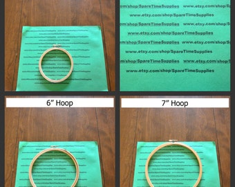 Wooden Hoops - various sizes - 1 unit