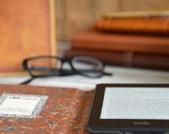 25% DISCOUNT Classic Hardback Book Case for Kindle, eReader & Tablet