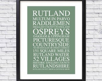 Limited Edition Rutland A4 Print (Unframed)