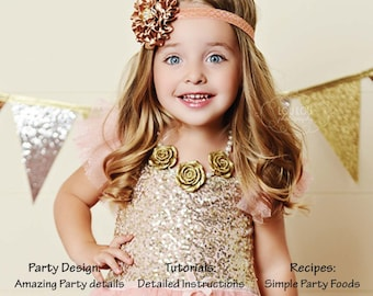 PARTY PLAN - Kids Birthday Party, Princess Theme -Instant Download- Complete With Recipes & Tutorials, ebook
