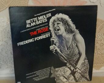The Rose Album, Bette Midler The Rose Album, The Rose Original Soundtrack Album, Atlantic Records