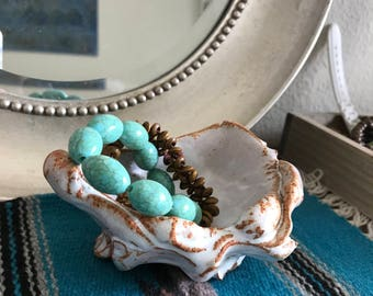Handmade unique pottery bowl