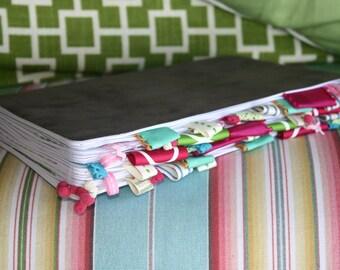 Custom Multi-Colored Altered Journal