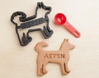 Husky Dog Cookie Cutter Siberian Husky Custom Treat Personalized