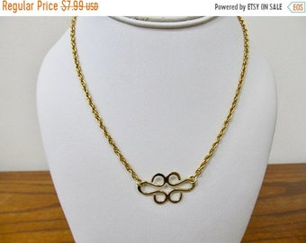On Sale Vintage Freeform Nothing Style Necklace Item K # 3159