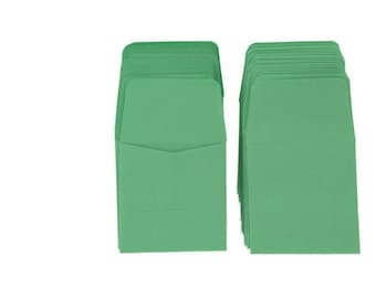Guardhouse Green Archival Paper Coin Envelopes, 2x2, 100 pack