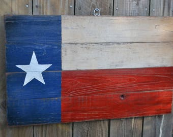 Texas Painted Wooden Sign