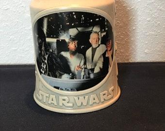 Vintage Star Wars Stoneware Stein Mug