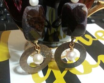 Agatha Pearl Earrings