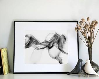 Smoke, Photographic Print, 11x14