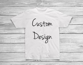 Custom Shirt Design -Kids
