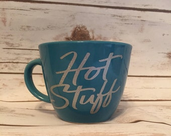 Hot Stuff - Vinyl  Coffee Mug