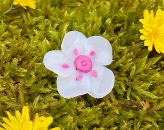 Flower cabochon * mischievous softness * individually