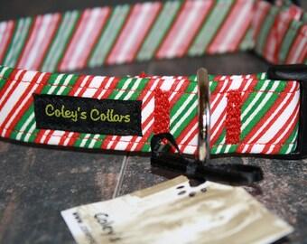 "Dog Collar ""The Christmas Neck Tie"""