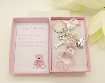 1st birthday gift etsy personalised baby girls 1st birthday gift negle Gallery