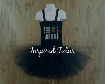 Darth Vader tutu.  Perfect for your favorite Sith Lord.  More Star wars characters avail.