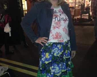 Level 3 Lolita Pinup Rockabilly 100% cotton 1/2 elastic Skirt Grab Bag Mystery Box