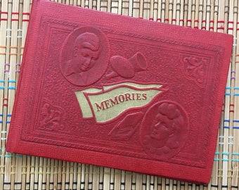 Vintage Autograph Book:  1940's Collegiate Set! R