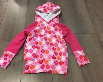 Hoodie evolutionary grow with me 3-6 T LiliBelle hoodie