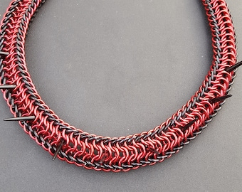 Lilith Collar in Red