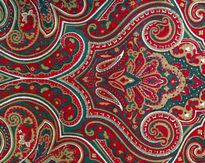 Holiday Paisley 2-fold Stock tie