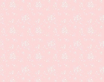 20% OFF Penny Rose Fabrics Bunnies and Blossoms Floral Pink